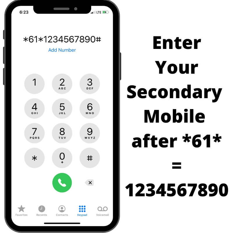 Conditional Call Forwarding when Phone is Unanswered