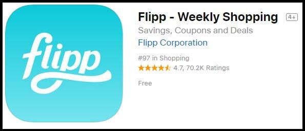 Flipp iPhone iPad money Saving shopping app