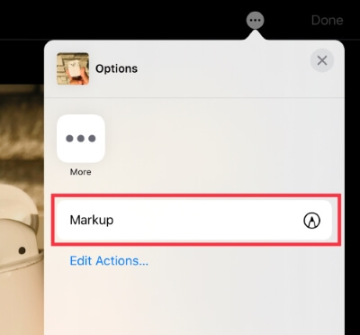 How to Use Markup Tool in iPad