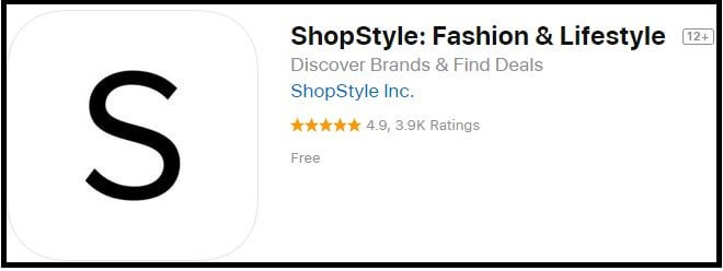 shopstyle Fashion and Lifestyle App for iPhone