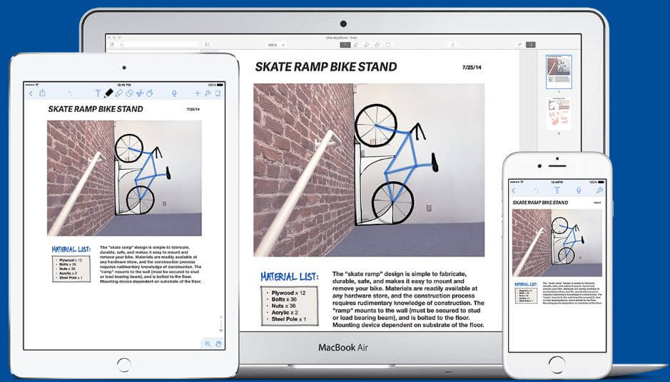 Notability Note app for iPad iPhone and Max