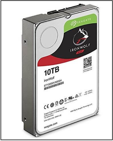 Seagate IronWolf NAS 7200RPM External drive for NAS 2019