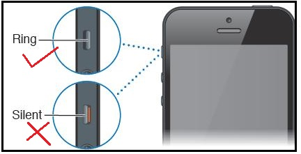 iPhone Ring Silent Switch