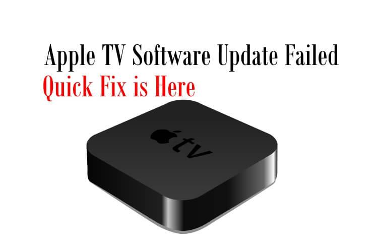 Apple TV Software Update Failed
