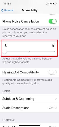 Turn on Front Speaker in Landscape mode on iPhone