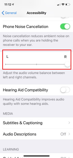 Turn on Front Speaker in Portrait mode on iPhone