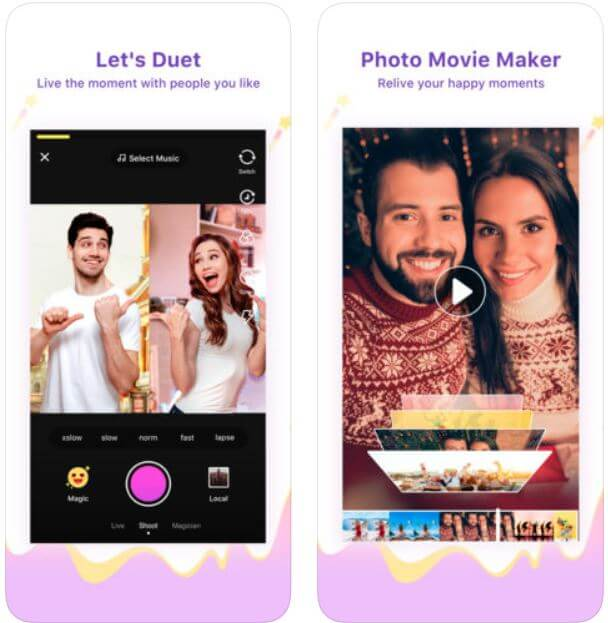 like App like TokTok for iOS and android