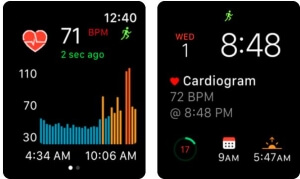 Cardiogram apple watch heart app