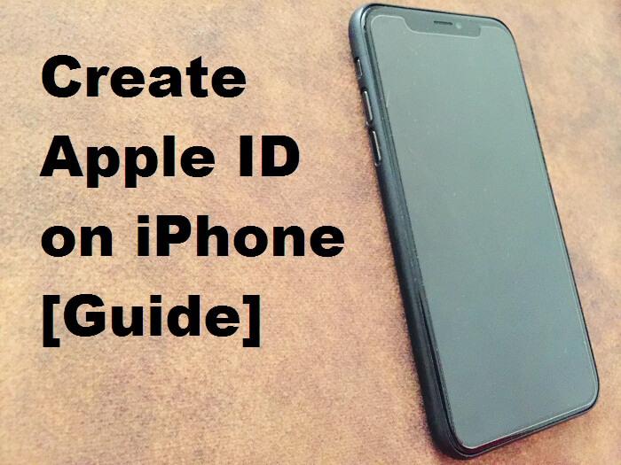 Create apple id on iPhone full guide