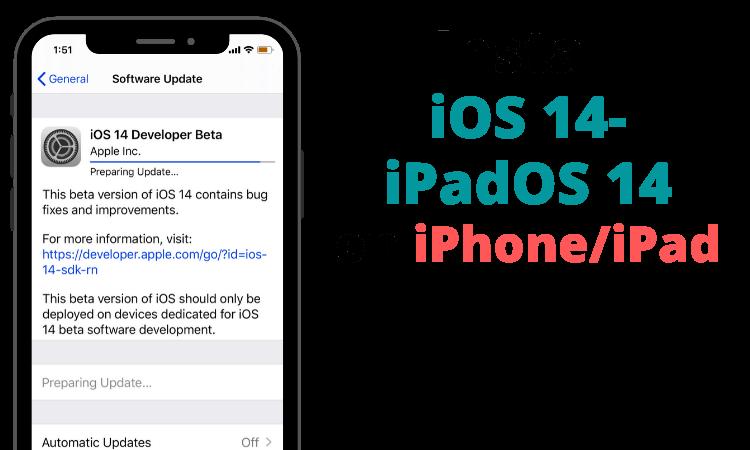 Download and Install iOS 14_ iPadOS 14 on iPhone_iPad