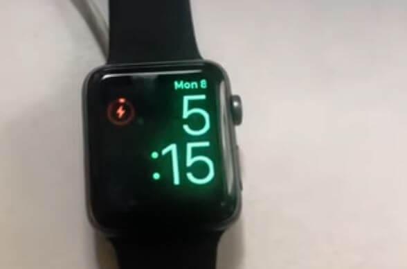 Keep Apple Watch Charging like this