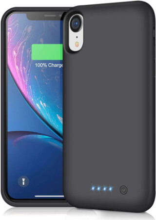 Pxwaxpy Battery Case for iPhone XR