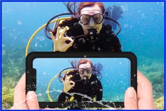 Phone XR Waterproof Case, OUNNE Full Sealed Underwater Cover case