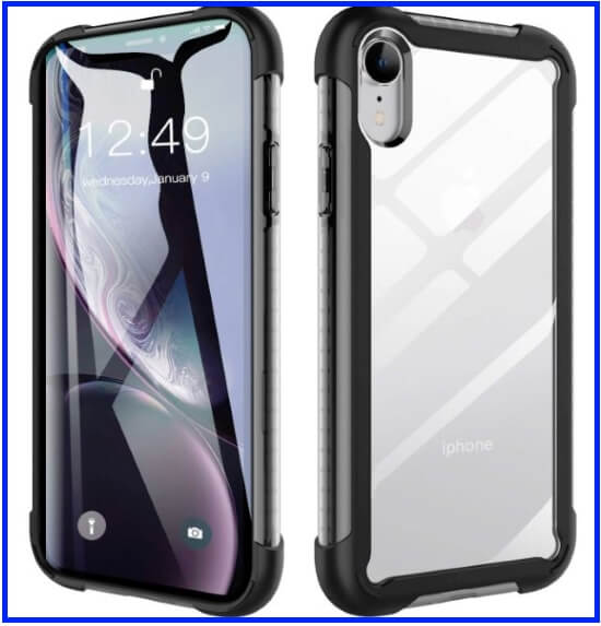 Ztotop clear Case for iPhone XR