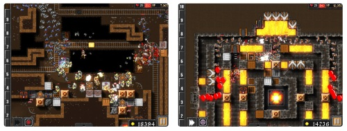 Dungeon Warfare tower game for iPhone and iPad