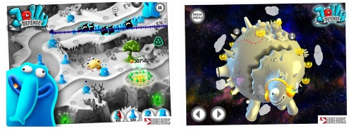 Jelly Defense Tower Game for iPhone