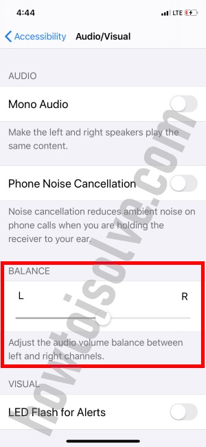 Audio Volume Balance on iPhone after update in iOS 13
