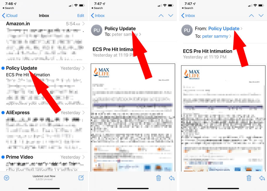 Block Spam Mail on iPhone and iPad in iOS 13 or later