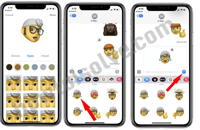 How to use Custom Memoji Sticker on iPhone and iPad in iOS 13