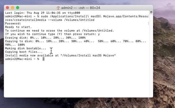 Make a Bootable Drive on Mac