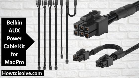 Belkin AUX Power Cable Kit for Apple Mac Pro