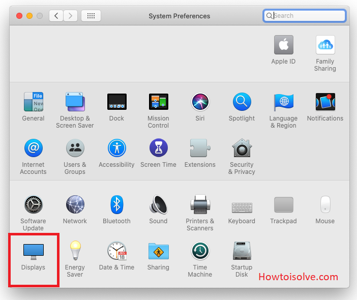 Displays System Preferences on Apple Pro Display XDR