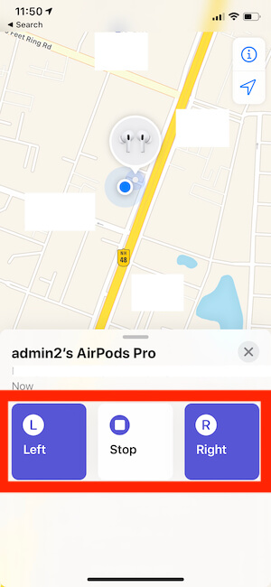 Find Left or Right AirPods Pro that has been Missing