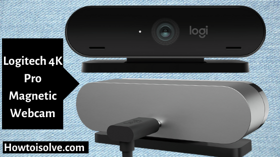 Logitech 4K Pro Magnetic Webcam Accessories for Apple Mac Pro Display XDR