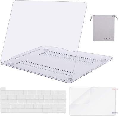 MOSISO - #1 Popular MacBook Pro Case with Storage Bag
