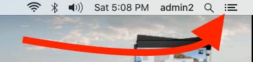 Show Today Widget on Mac