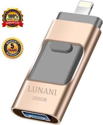 LUNANI Flash Drive for iPad