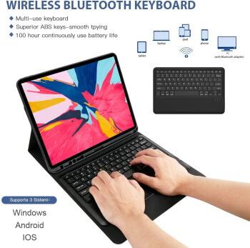 TORUBIA iPad Pro 12.9 Keyboard Case