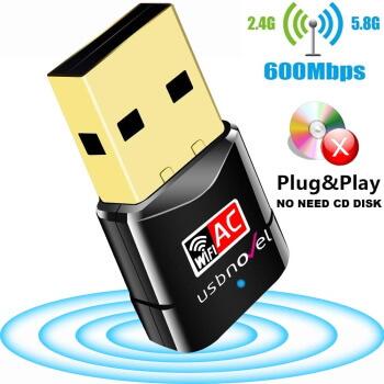 USBNOVEL Dual Band Wi-Fi Adapter