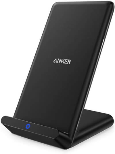 Anker Wireless Charger, PowerPort Wireless 5 Stand, Qi-Certified