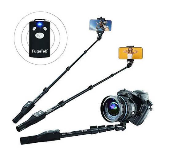 Fugetek Selfie Stick for iPhone SE 2020