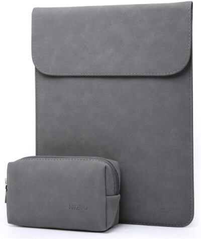 HYZUO Faux Suede Leather Sleeve