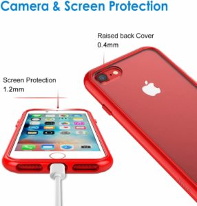 JETech phone Case for Apple iPhone SE 2nd Generation bumper case cover