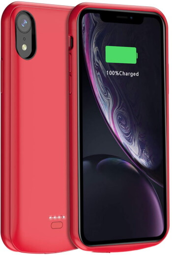 JUBOTY Battery Case for iPhone XR