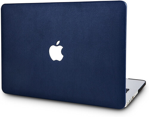 KECC Italian Leather Case Cover for Apple MacBook Pro 16 inch Size
