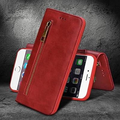 Madowl Magnetic Detachable Wallet Case