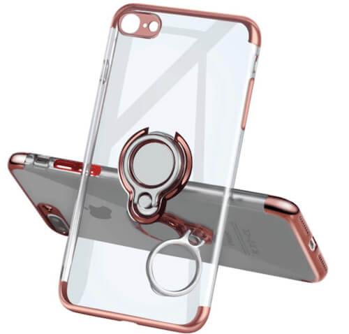 Meetree Ring Holder Clear Case for iPhone SE 2 - 2020 model