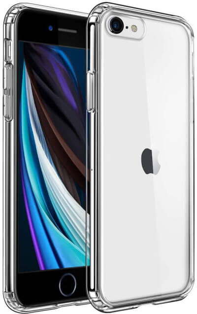 Mkeke Clear Case for iPhone SE 2020