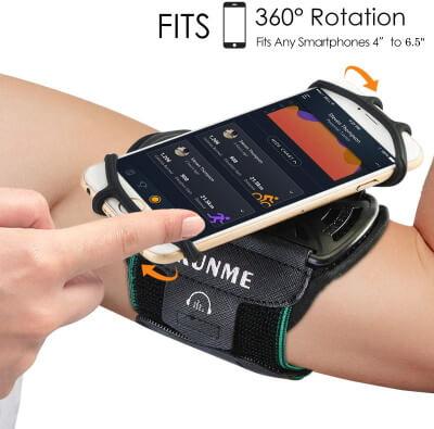 Wallfire Wristband Phone Holder