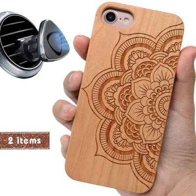 iProductsUS Wooden Print Case