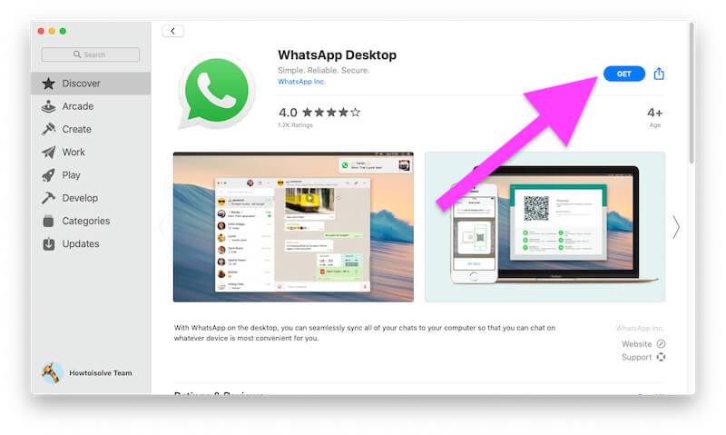 Get WhatsApp for Mac or MacBook