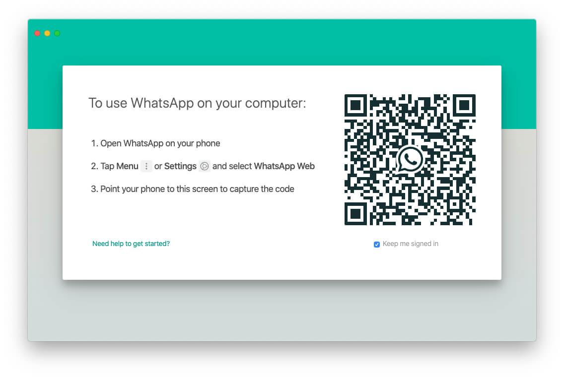 Login Your WhatsApp using your iPhone WhatsApp app settings