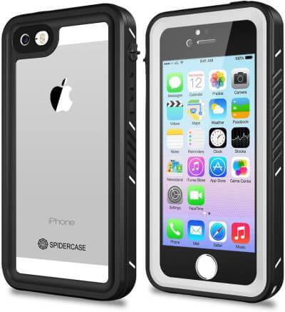 IP68 Certificated Underwater Waterproof iPhone 5 5s SE Case by Spider Case