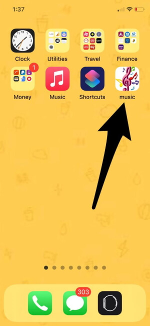 Save Music Bookmark with New Shortcut
