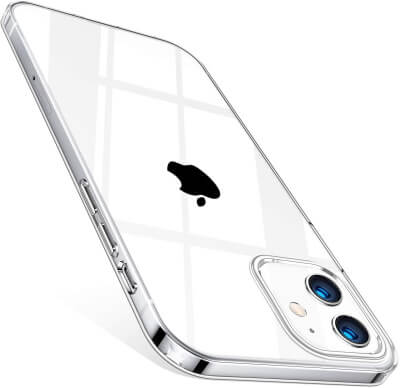 TORRAS Silicone Clear Case
