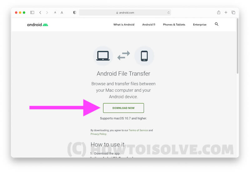 Download Free Android File Transfer software for Mac